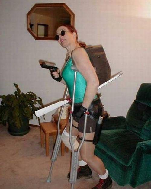The Worst Lara Croft Wannabes (13 pics)