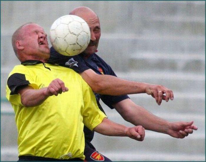 Balls vs Faces (36 pics)