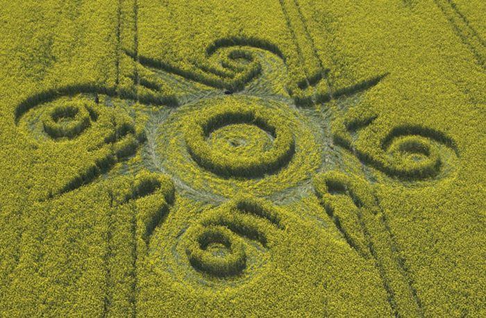 Crop Circles (57 pics)