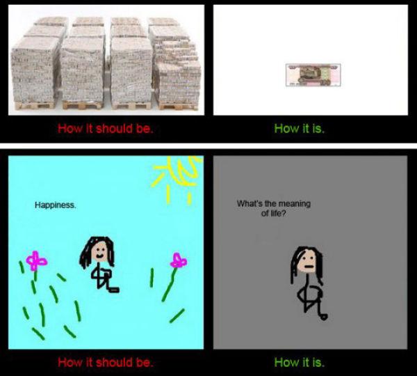 How It Should Be vs How It Is (11 pics)