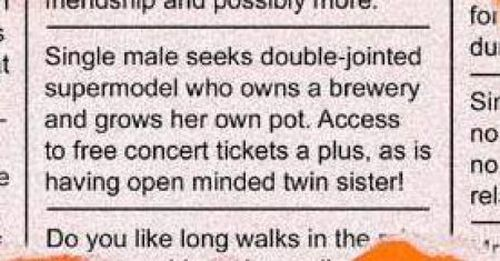 Funny Personal Ads (17 pics)