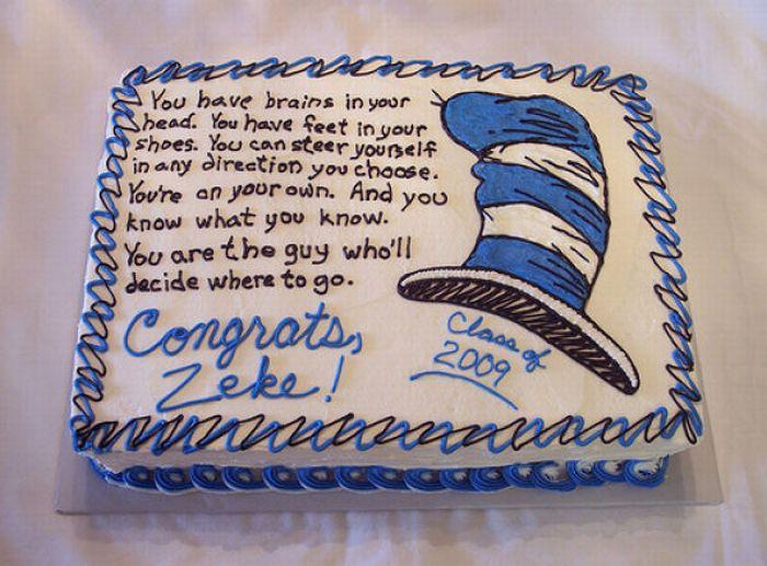 Hilarious Graduation Cakes