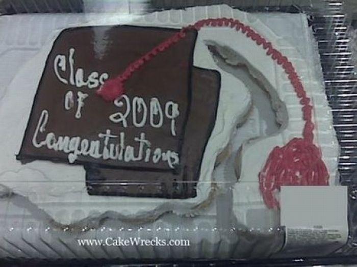 Hilarious Graduation Cakes (54 pics)