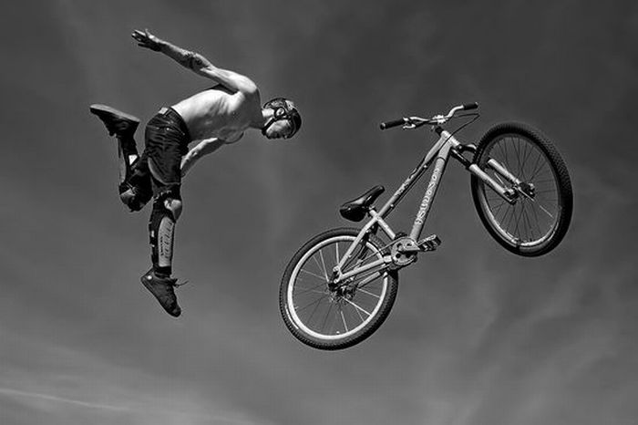 Deportes extremos y fotografía extrema: Adrenalina pura