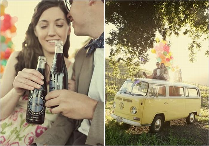 "Wedding Pictures Inspired by Disney Pixar's Movie ""Up"" (9 pics)"