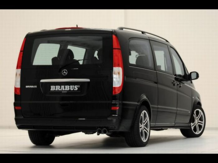 Brabus Mercedes-Benz Viano Lounge, A Van for a Rich Man (18 pics)