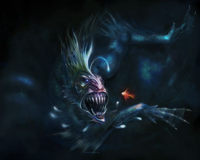 Ugliest and Scariest Monster Artworks (60 pics)