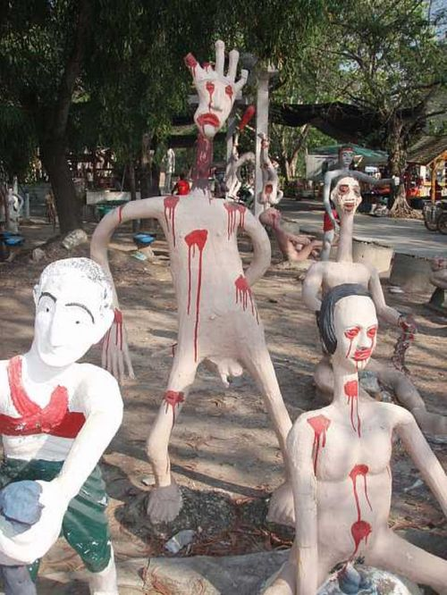 Scary Park in Thailand (34 pics)