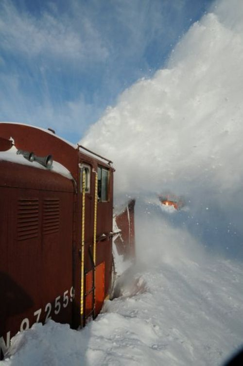 Snow Blower Train (27 pics)