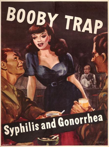 Vintage STD Propaganda Posters (50 pics)