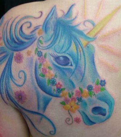 Worst Unicorn Tattoos (57 pics)