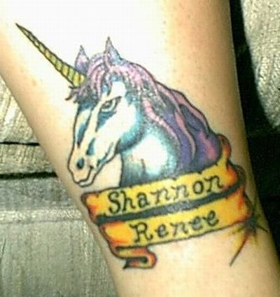 Worst Unicorn Tattoos (57 pics)