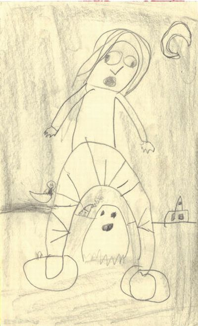Disturbing Children's Drawings (10 pics)