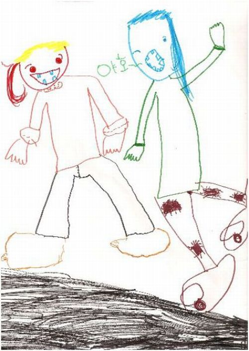 Disturbing Children's Drawings (10 pics)
