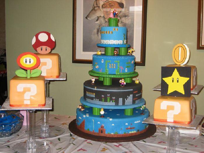 Super Mario Cakes (50 pics)
