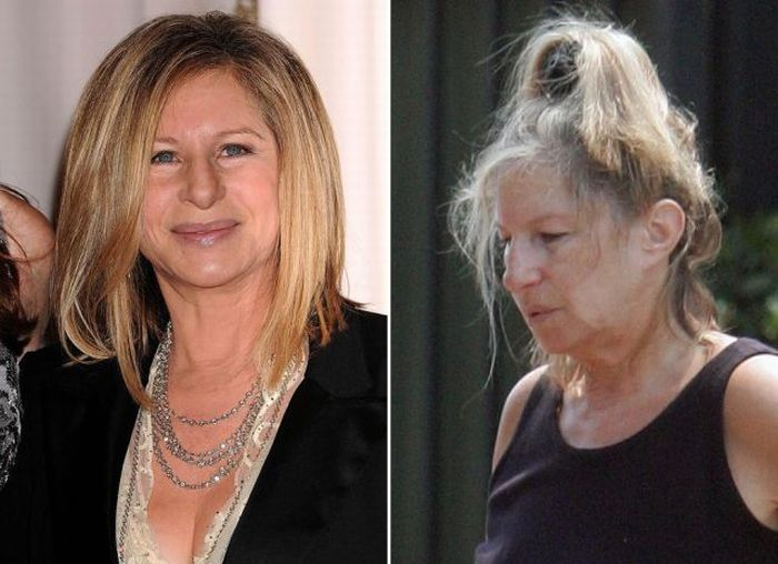 Celebrity without makeup ugly celeb