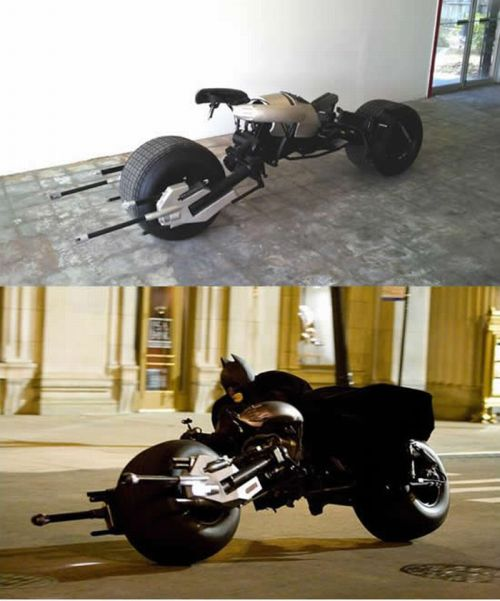 Custom Made Batpod (10 pics)