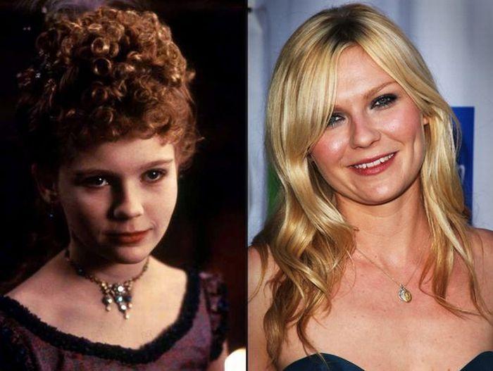 Niños famosos antes y ahora