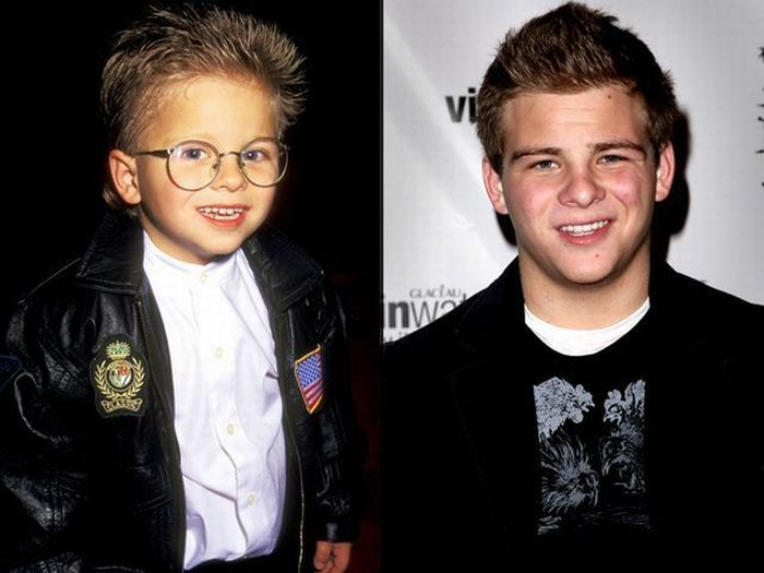 Famous Kids Then and Now (46 pics)