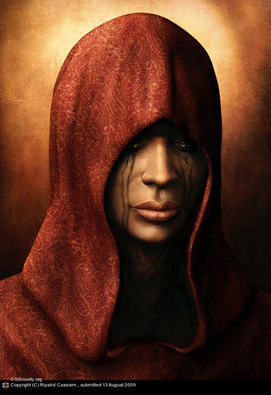 Amazing 3D Portraits (33 pics)