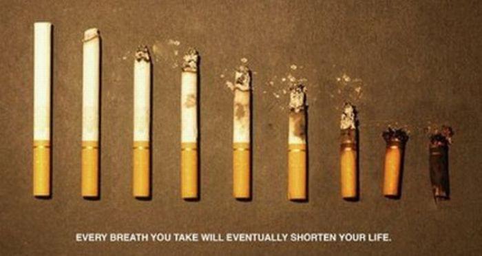 Creative Anti-Smoking Ads (43 pics)