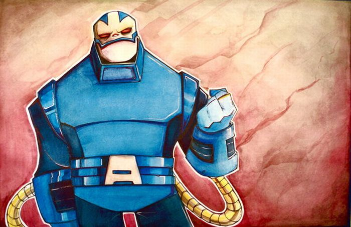 Creative Illustrations of Comic Book Heroes (16 pics)
