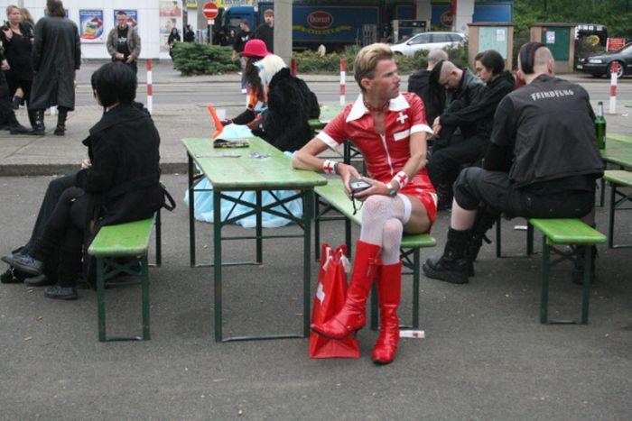 Gothic-Treffen in Leipzig (33 pics)