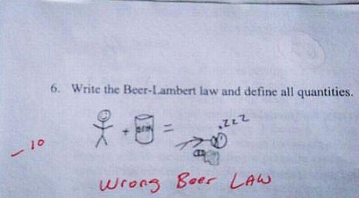 Funny Exam Answers. Part 2 (39 pics)