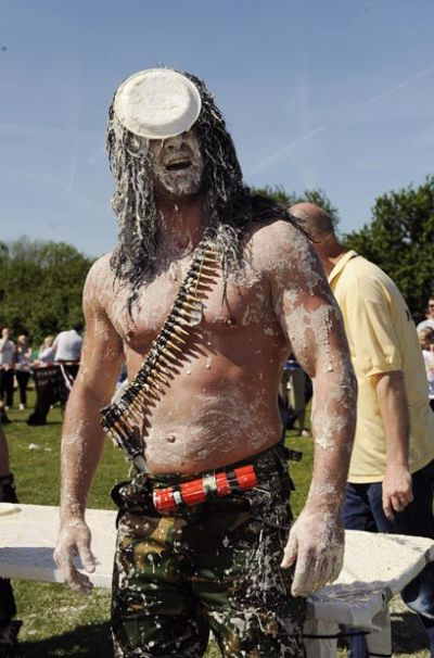 World Custard Pie Championship (9 pics)