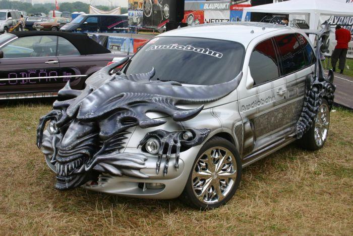 Фото крутых тюнингованных машин