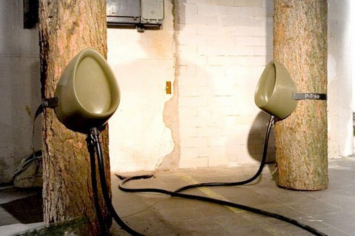 P-Tree Urinal (4 pics)