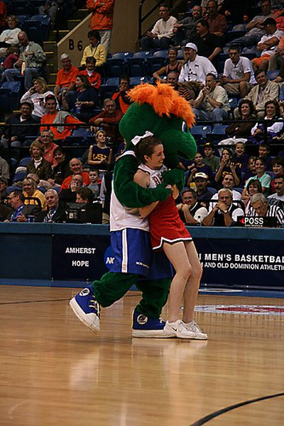 Sports Mascots Caught Behaving Badly (19 pics)