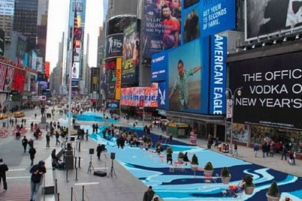 Times Square Makeover (7 pics)