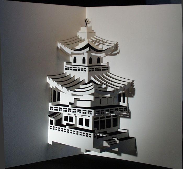 Beautiful Origami Architecture of Ingrid Siliakus (20 pics)