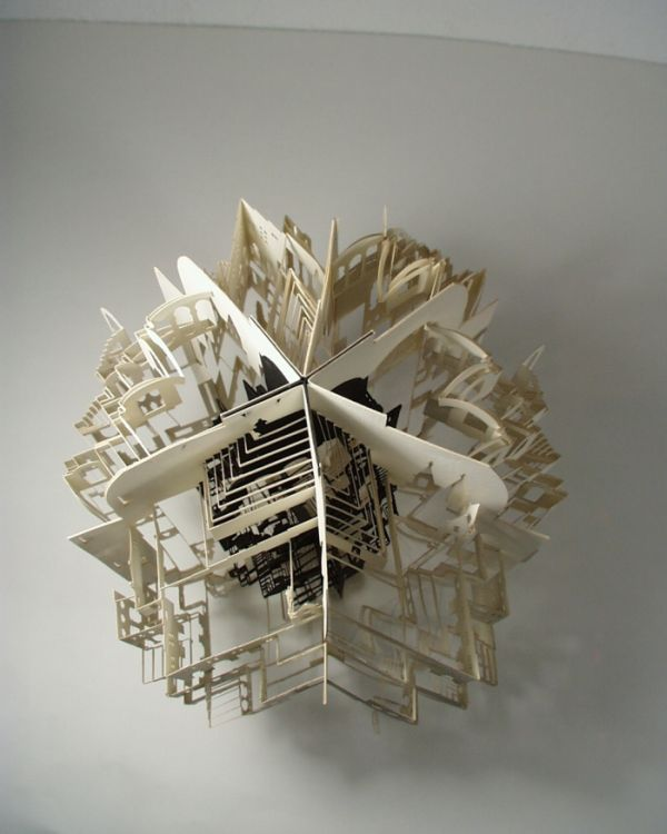 Beautiful Origami Architecture of Ingrid Siliakus (20 pics)