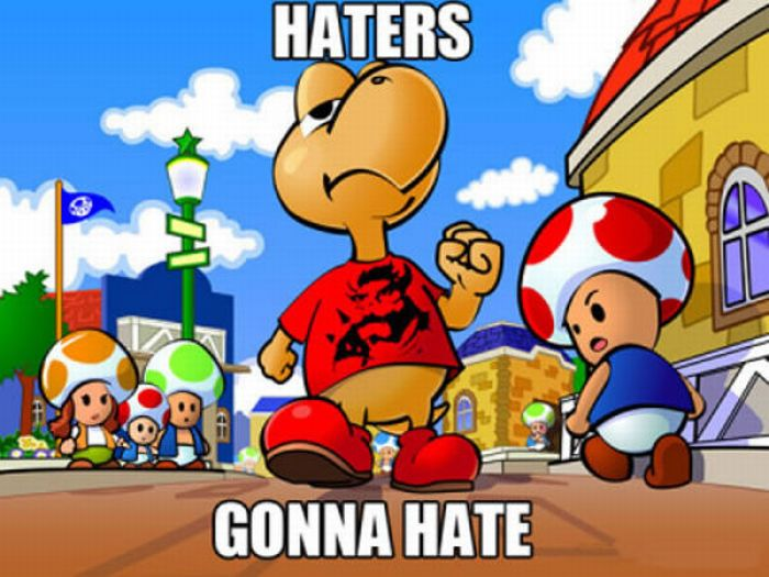 Haters Gonna Hate (26 pics + 1 gif)