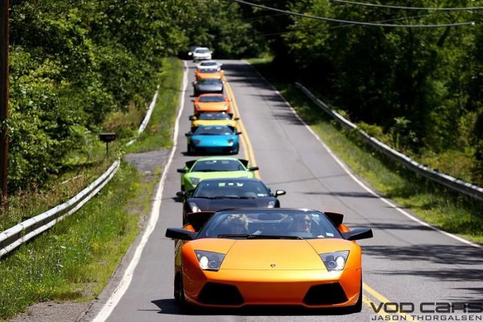 Lamborghini Owners Club Meeting (36 pics)