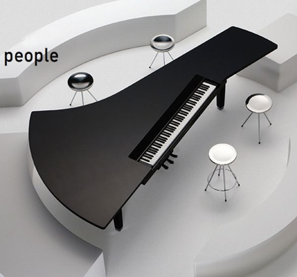 Unusual Piano Designs (18 pics)