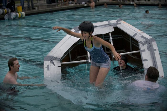 Very Cool Self Made Devices for Walking on Water (8 pics)