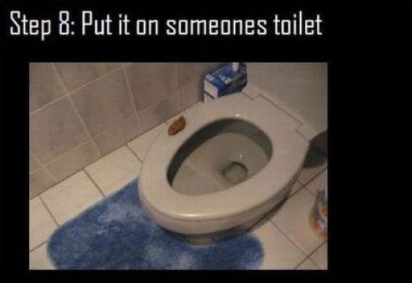 Funny Toilet Prank (10 pics)
