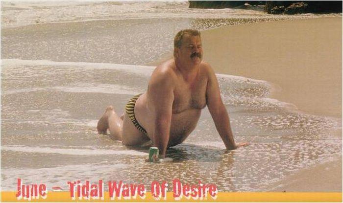Hilarious Calendar with Men Models (9 pics)