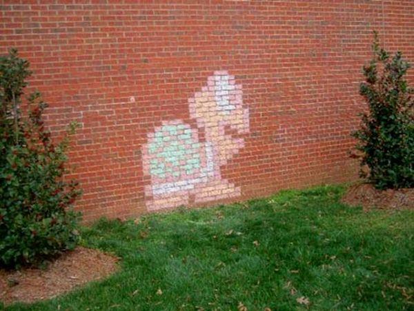 mario brick art 05 Mario Brick Art