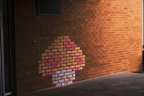 mario brick art 09 Mario Brick Art