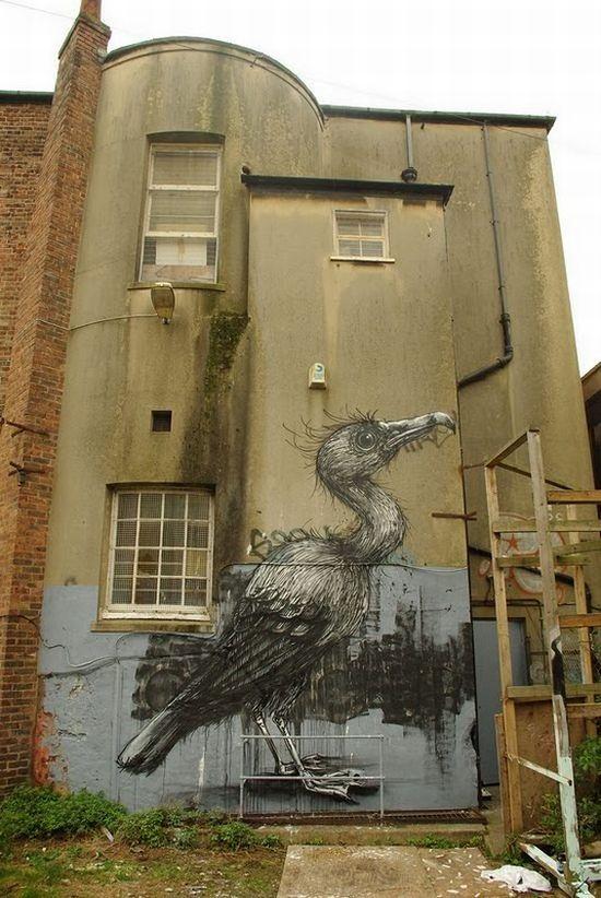 Amazing Animal Graffiti Street Art (32 pics)