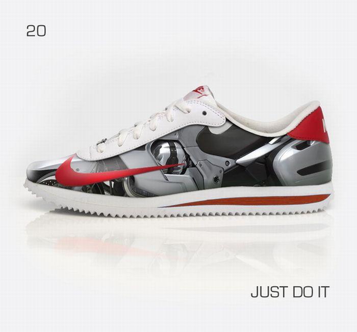 Custom Designed Sneakers. Part 2 (24 pics)