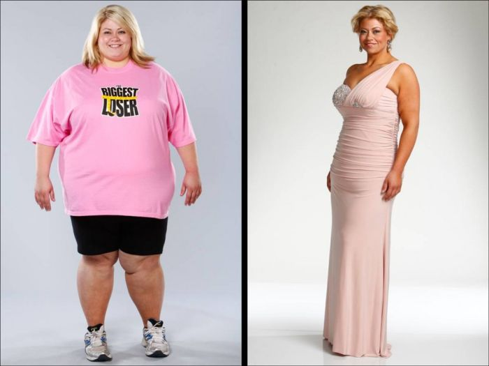 The Biggest Loser  Before and Before And After Weight Loss Biggest Loser