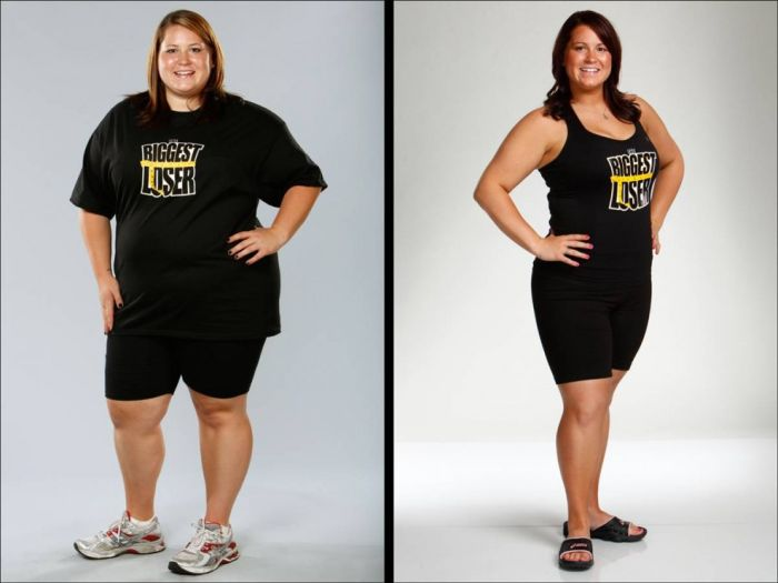 The Biggest Loser. Before and After the Show (23 pics)