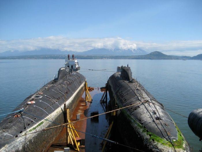 The Final Journey of Two Submarines (90 pics)