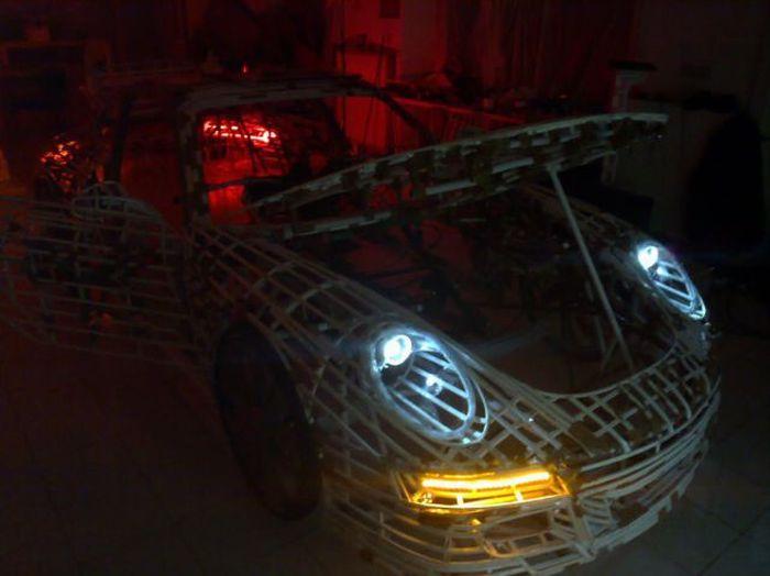 Amazing Eco-Friendly Gold Porsche (44 pics + video)