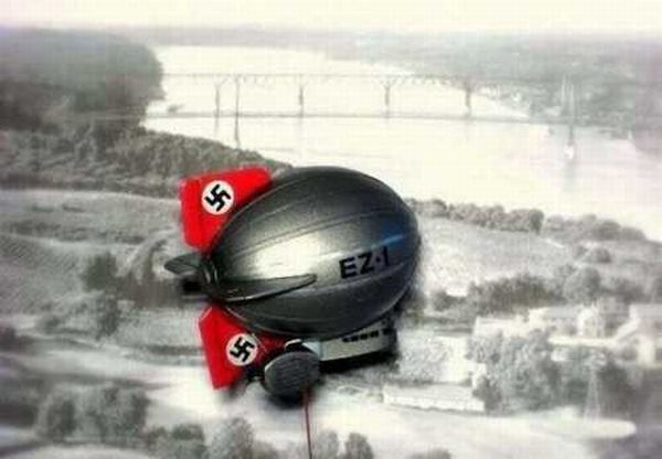 Making a Nazi Aircraft Out of an Egg (18 pics)